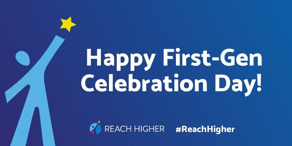 @ReachHigher's photo on #CelebrateFirstGen