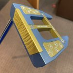 Image for the Tweet beginning: That color 🔥🔥 #tsquaredputters #custom
