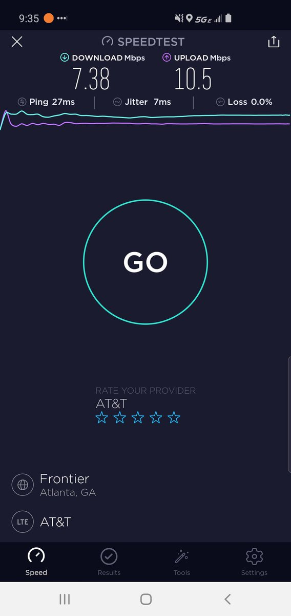 Is @ATT testing #5G or is this what to expect in #Atlanta?