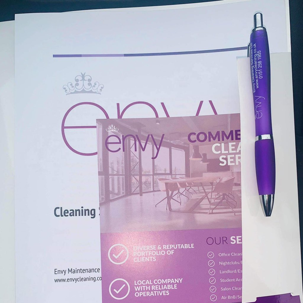 We have been delivering our Cleaning Services Information brochure to prospective clients this week. If you would like a copy (delivered or a pdf via email) just let us know #liverpool #cleaning #liverpoolcleaners #domesticcleaning #officecleaning #commercialcleaningpic.twitter.com/0utbsCvyzO