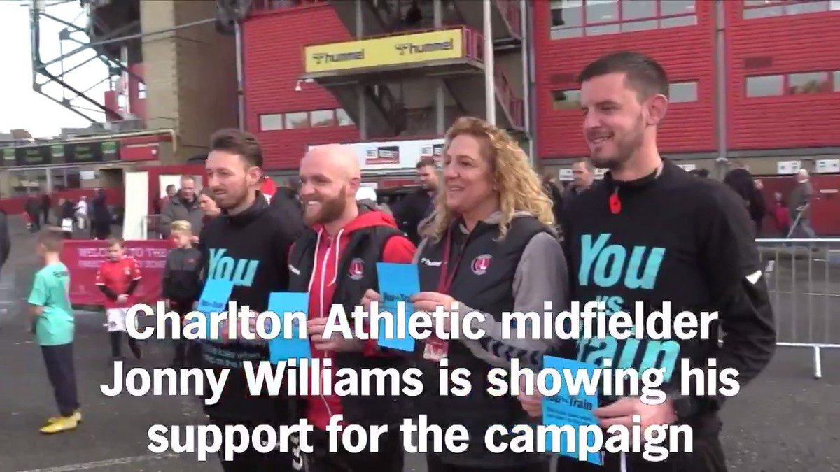 As lockdown restrictions ease, CACT wants our fans, friends and families to stay safe by staying off the tracks. Everyone loses when you step on the track. Heres what @cafcofficials Jonny Williams had to say in November. #YouvsTrain #staysafe @efltrust @networkrail