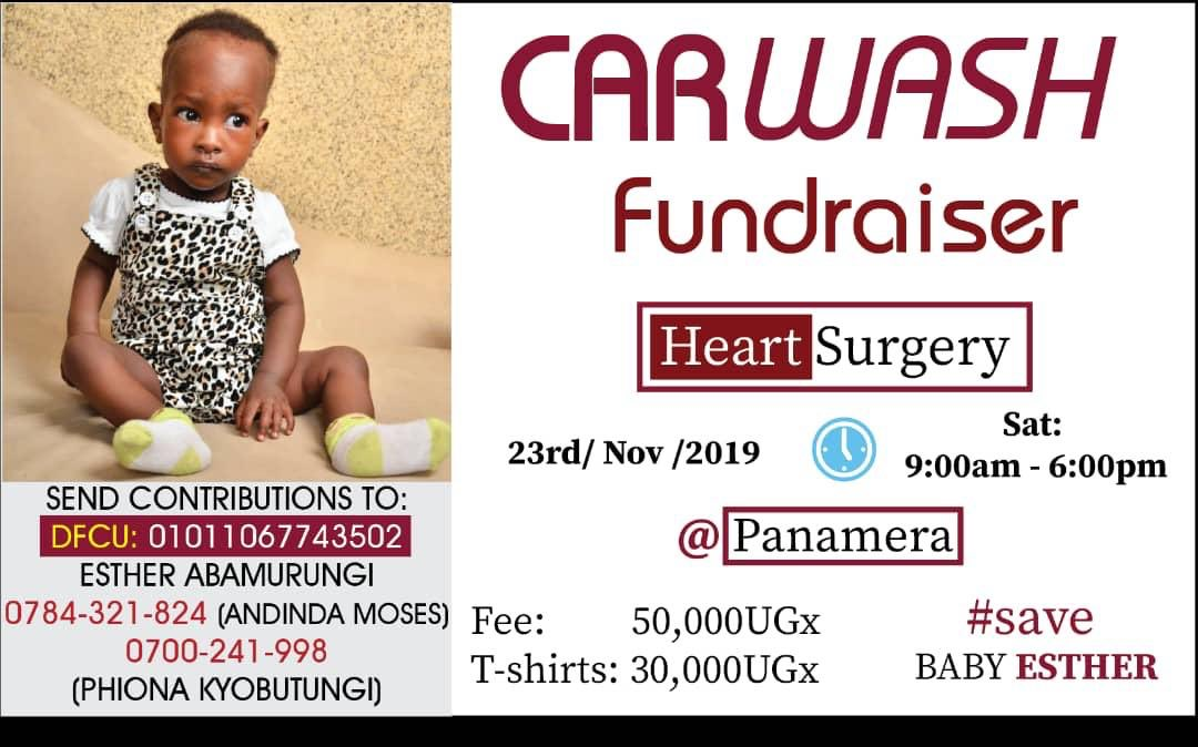Hello #UOT, I'm reaching out to request you all to join me in the #SaveBabyEsther campaign.11-months- old Esther Abamurungi has 2 holes on her heart, and is in need of urgent and specialized treatment in India worth $30,000 (UgX110M).A little becomes a lot when we join hands..<br>http://pic.twitter.com/99f8d8s5gt