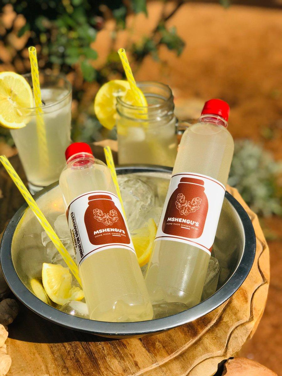 I can offer the couple a scintillating Home Brewed Ginger Beer ( Gemmer) for the wedding💫 #KFCProposal #KFCWEDDING twitter.com/KFCSA/status/1…