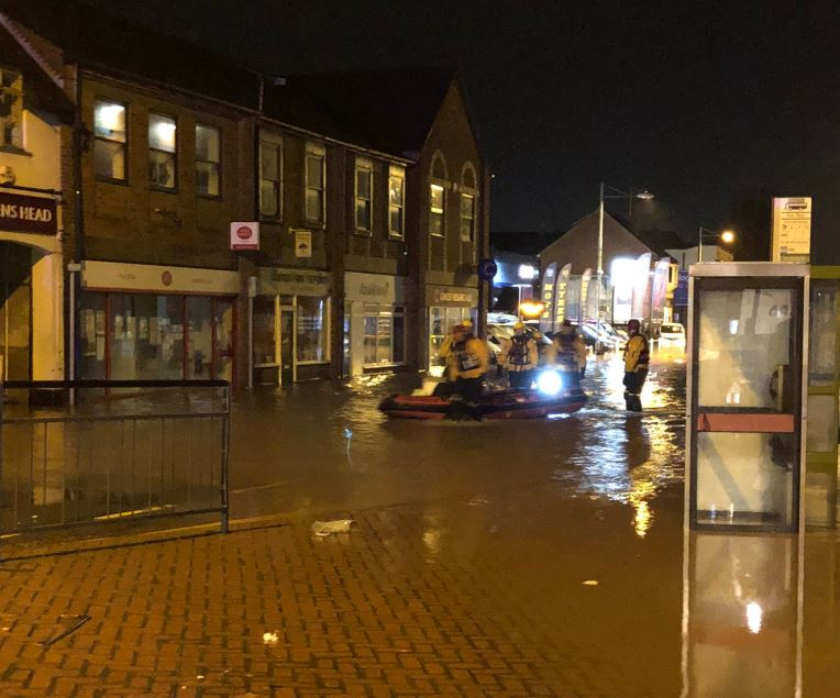 Flooding disrupts Worksop bus services bbc.in/2WWiRPN