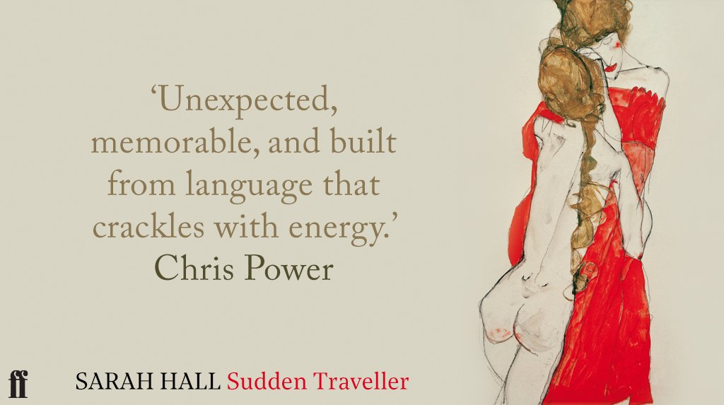 The inimitable Sarah Hall is back with a new collection of short stories, Sudden Traveller is out now.