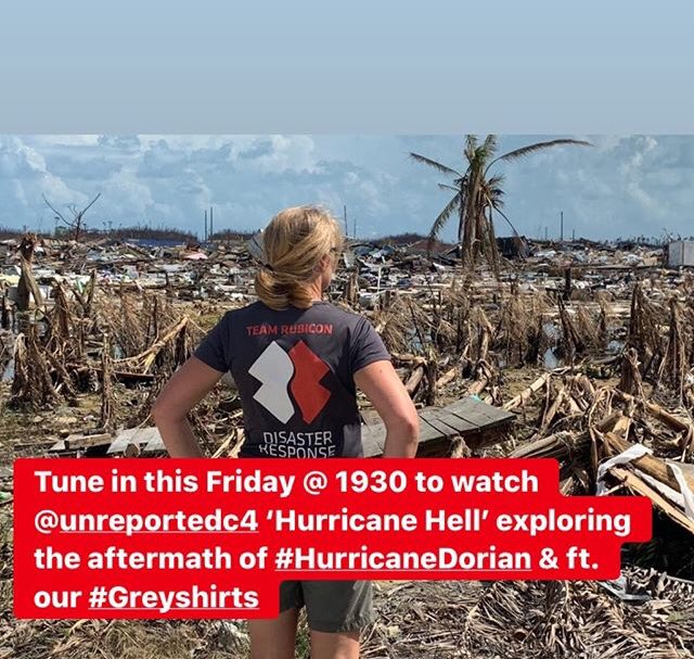 Looking for something to watch tonight 📺   Dont miss the brand new series of @UnreportedWorld on #Channel4   The First episode is 'Hurricane Hell' exploring the aftermath of #HurricaneDorain & featuring @teamrubiconuk  #FridayThoughts #