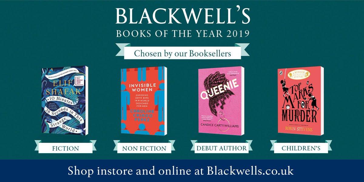 .@blackwellbooks #BookOfTheYear shortlist revealed: bit.ly/2qx0sNa