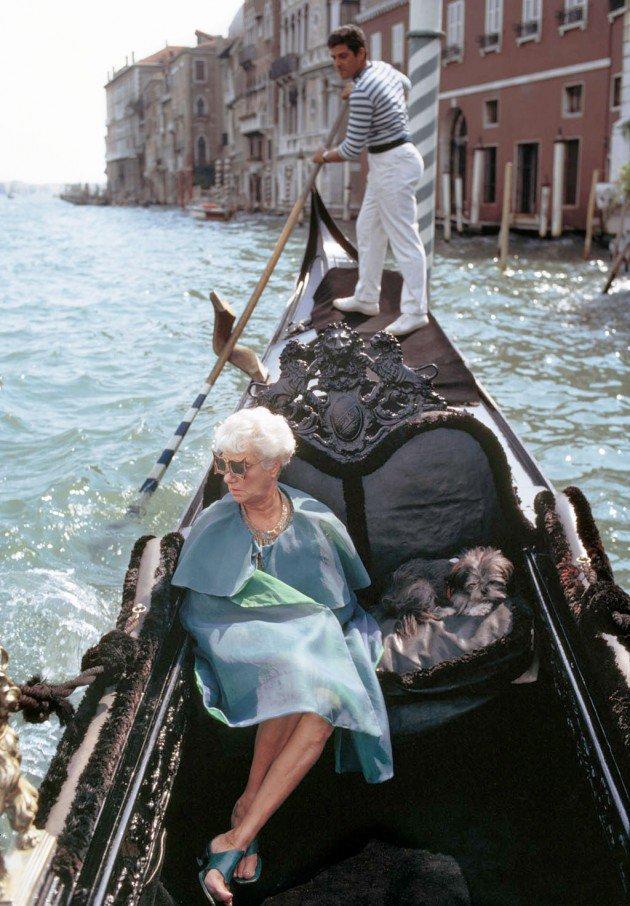 Venezia omaggia Peggy. Su @abitare   #UltimaDogare...