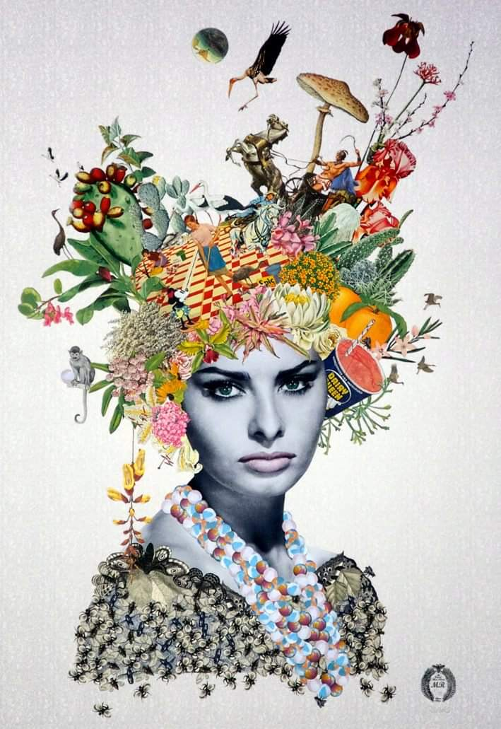 Maria Rivans #collage #collageart <br>http://pic.twitter.com/mylHrp80hb