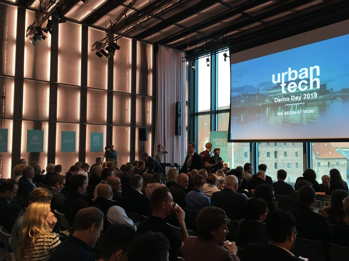 We are to be found at @_urbantech #DemoDay19. Ready to see all the great results from the #Urbantech program, that we have hosted for the last three months.