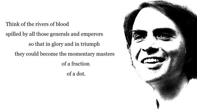 Happy birthday, Carl Sagan (1934-1996)