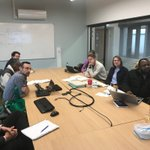 Image for the Tweet beginning: Team Malawi discussions on our