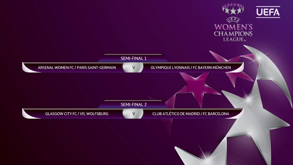 1/2 Ligue des champions féminine