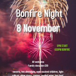 Don't miss out on tonight's Bonfire Night at Lockers Park! As always, it promises to be a sparkling affair and we hope to see as many families as possible join in the fun. See you at 5pm!😄🎆 #FireworksNight #bonfirenight2019 #BOOM