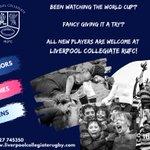 Image for the Tweet beginning: Liverpool Collegiate RUFC always have