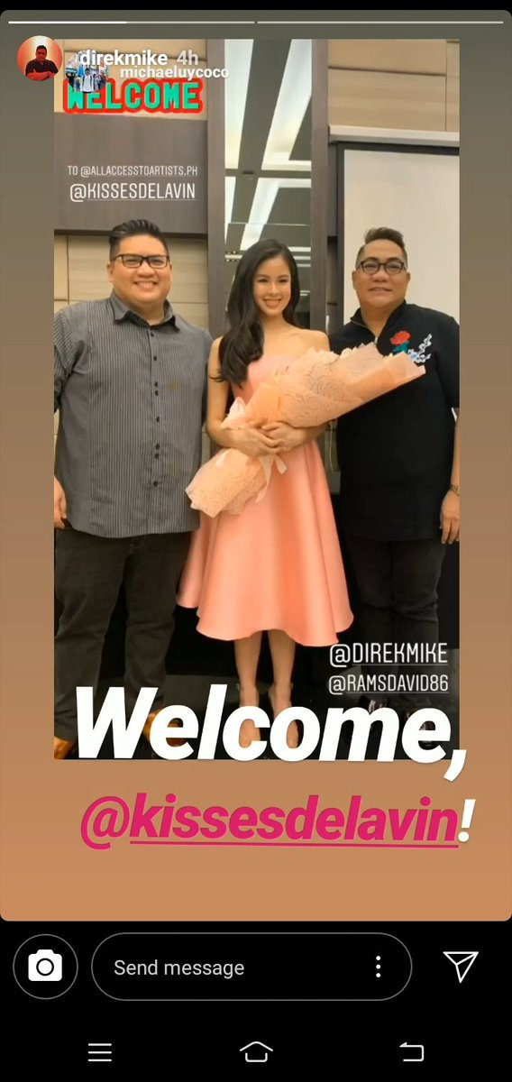 Thank you po @DirekMike super happy po kaming kissables! @KissesDelavin  KISSES SaMEGAndaViceCo #KissesDelavin<br>http://pic.twitter.com/MOVKog935v