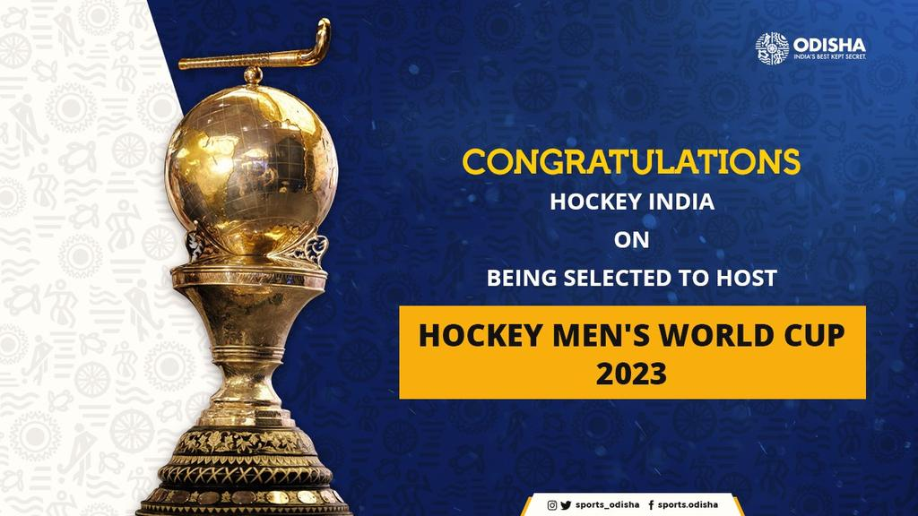 The Executive Board of FIH has selected India as hosts of the 2023 FIH Hockey Men's World Cup, while Spain and the Netherlands will co-host the 2022 FIH Hockey Women's World Cup.#IndiaKaGame