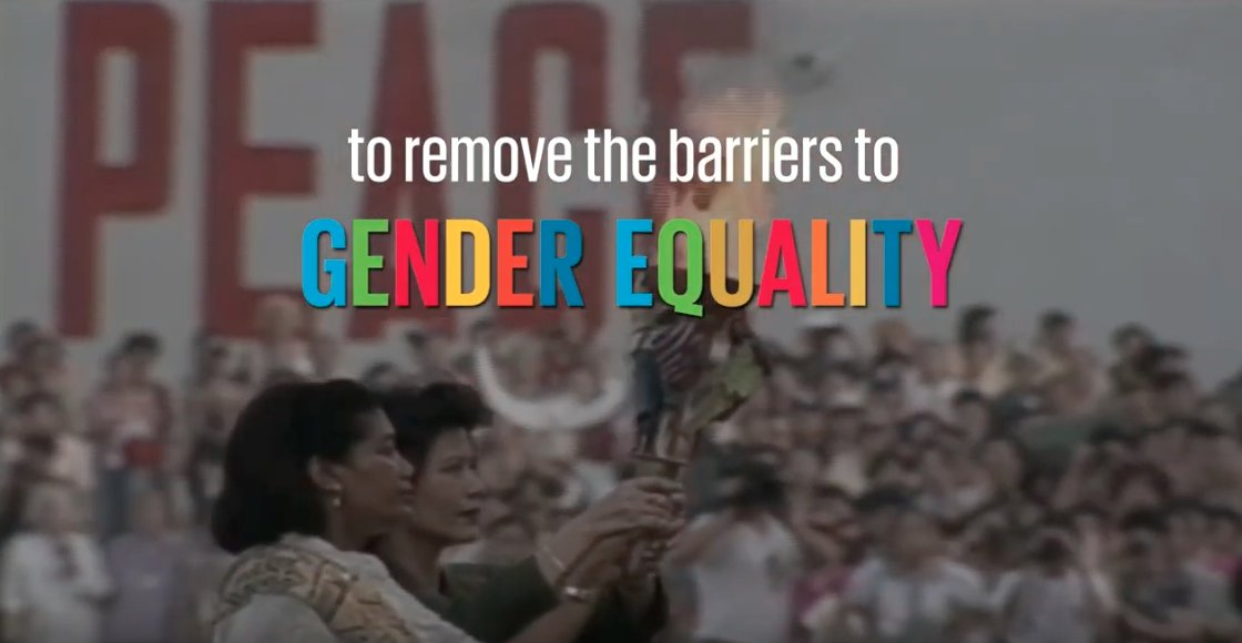 #MustSee: 25 years ago, 189 countries adopted the #BeijingDeclaration to remove the barriers to #GenderEquality. youtu.be/S80R9txbo2s - via @UNECE - #SDGs - #SDG5 - and sci.fo/663 #German via @SwissMFA headed by @ignaziocassis - #GenerationEquality @UN_Women
