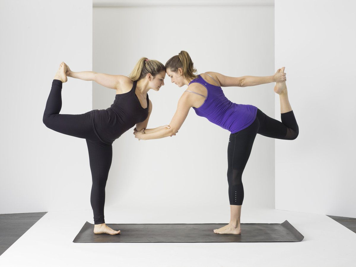 С помощью йоги я похудела