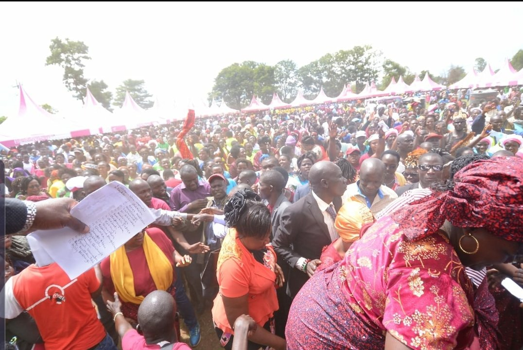 , Ruto Enthusiasts Invade Wetangula's Backyard With Goodies – Daily Active