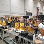 Image for the Tweet beginning: Grade 9 Jags cooking up