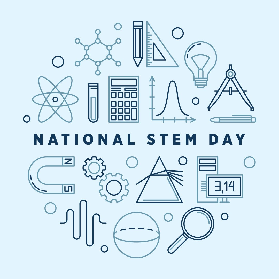 Today is #NationalSTEMDay. We support science and technology education to help inspire the next generation of leaders.
