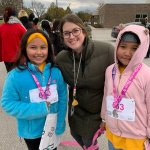 Image for the Tweet beginning: WV's Girls on the Run