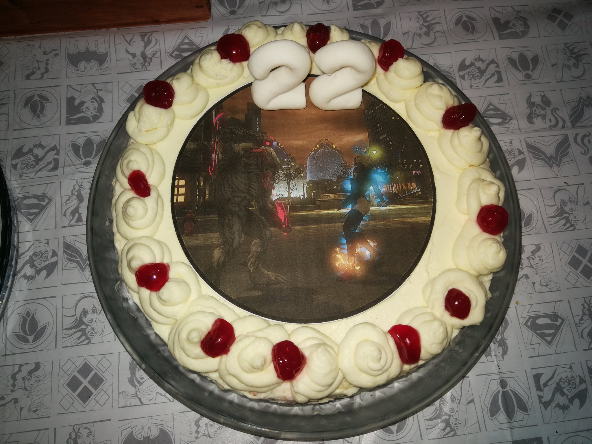 Fantastic Dcuo Birthday Cakes D Dc Universe Online Forums Funny Birthday Cards Online Sheoxdamsfinfo