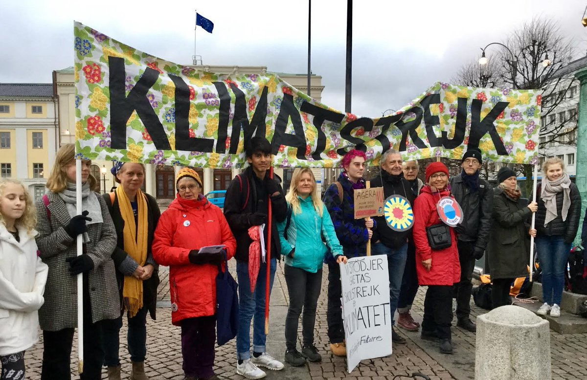 #FridaysForFuture #climatestrike 8 November i Göteborg. Utsläppen ökar! Vi kräver handling! @FFF_goteborg @GretaThunberg