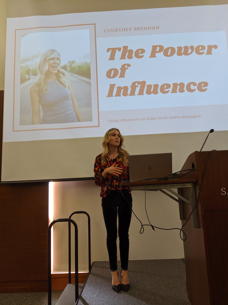 Hard to believe it's already our last speaker of the day! @CourtBrennanTV  brings it home on influencer marketing! #LHSummit
