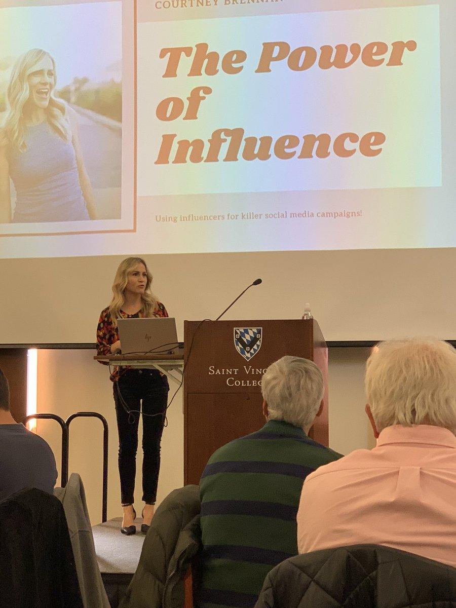 @CourtBrennanTV talking about #InfluencerMarketing #LHSummit
