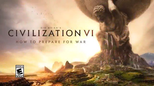 Whether a necessary evil or means to victory, go to war prepared in Civilization VI, available November 22 on #PS4 and #XboxOne. Pre-order now at http://civilization.com!