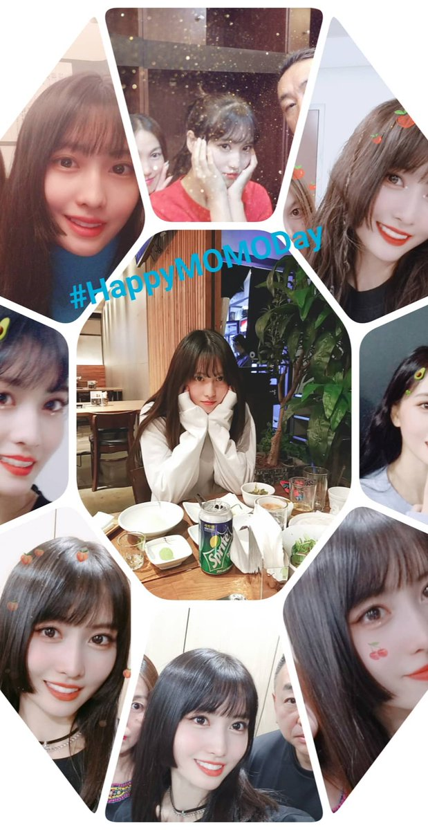 Momo's mom who makes a collage for Momo's birthday every year, posted one for this year too   #HappyMOMOday  #DancingMachineMomo  #OurLovelyMomoDay<br>http://pic.twitter.com/B5tch88kvo