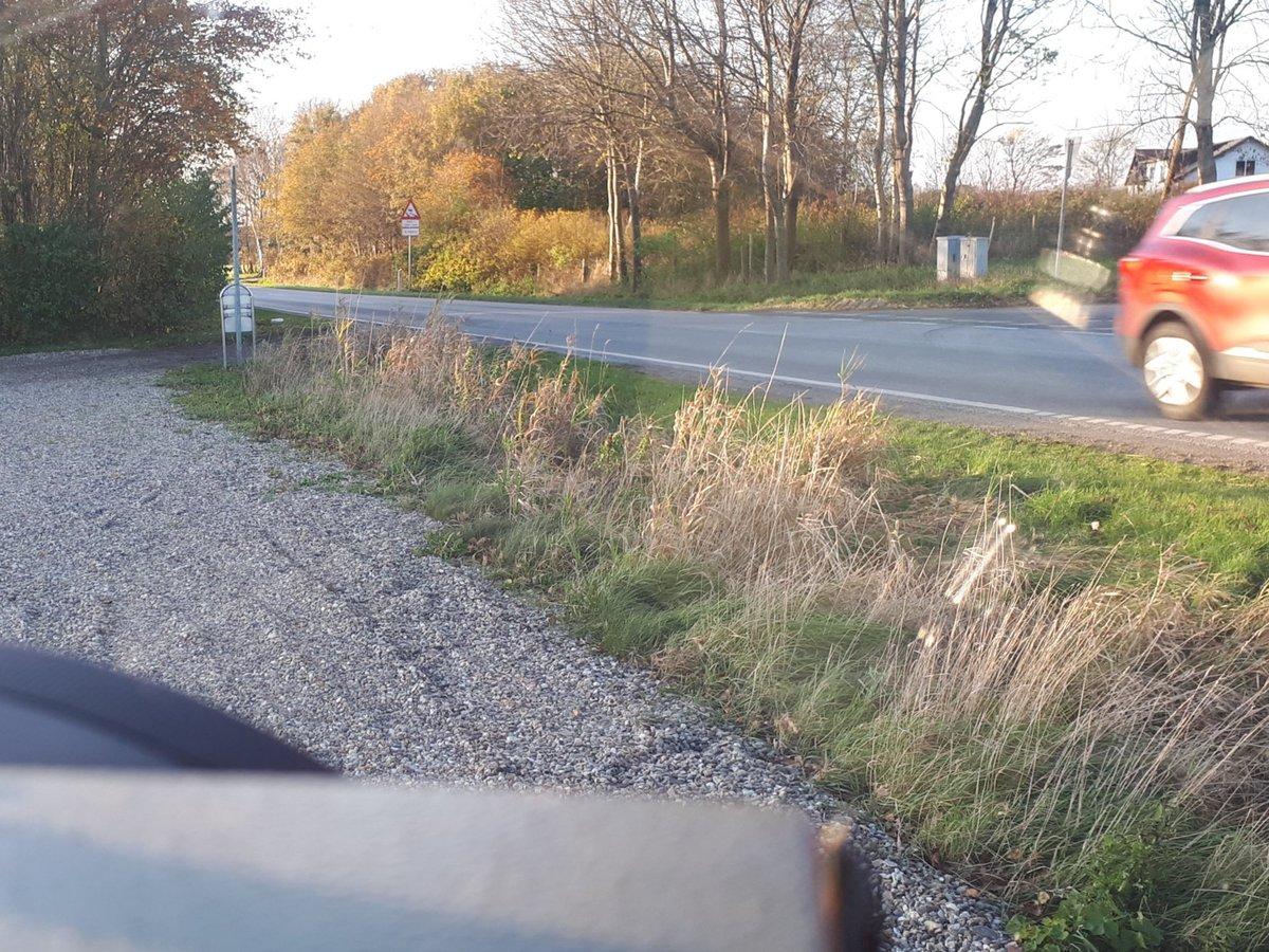 Atk målte i dag på fokusstrækning Jelsvej ved Rødding. Ud af flere hundrede passerede, lykkedes det for 7 bilister at få taget et foto. En enkelt kørte 111kmt, hvilket også resulterer i et klip #atkdk #politidk https://t.co/lYpNVazlGs