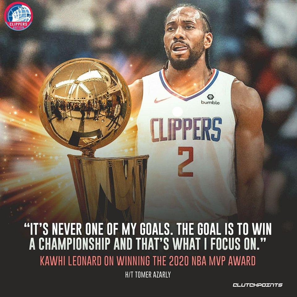 The Klaw only has one goal in mind 🏆 #Clippers #ClipperNation