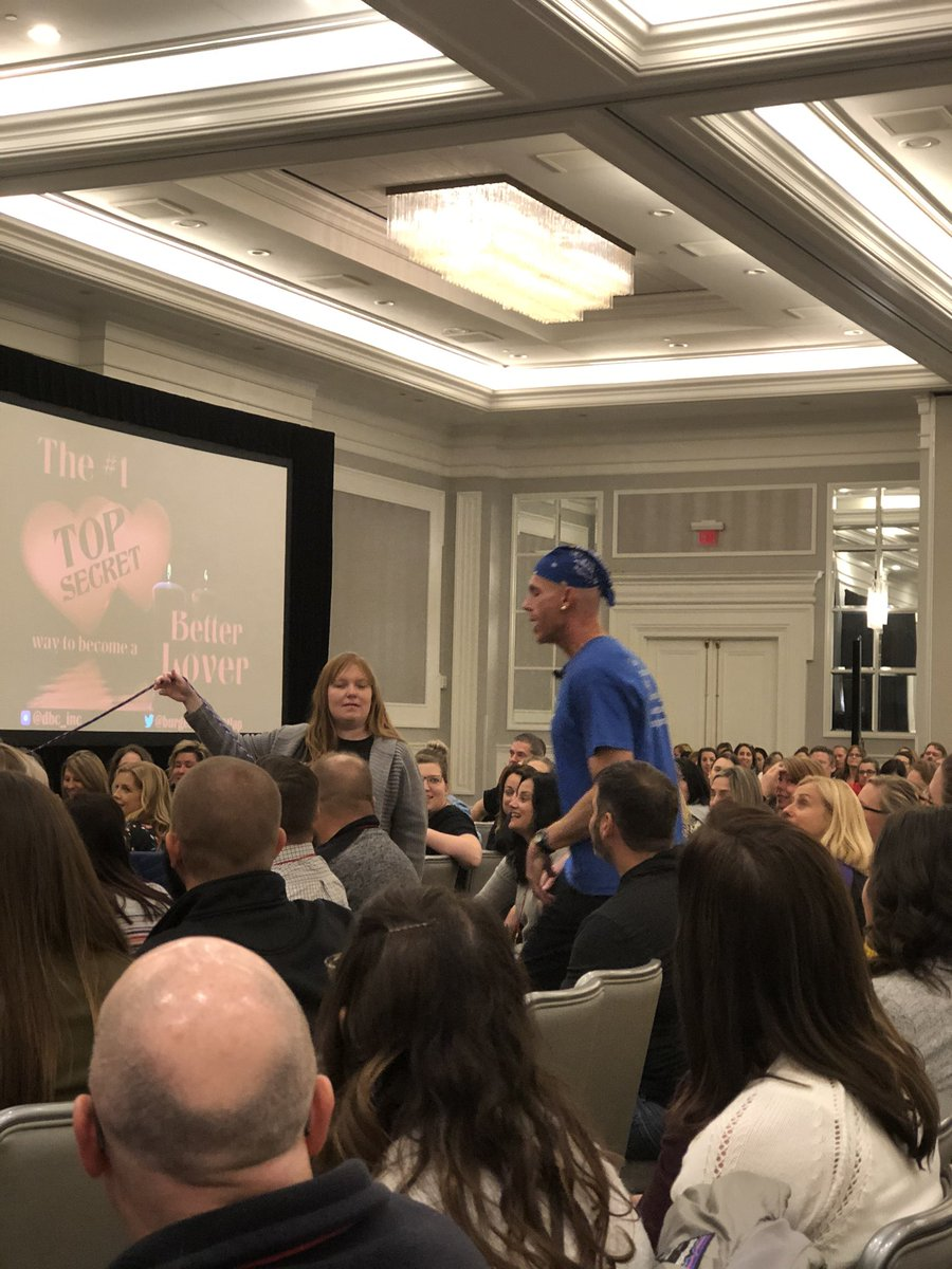 Learning passion from THE @burgessdave this morning! It's fun to see Teach Like a Pirate in real life. #omla2019