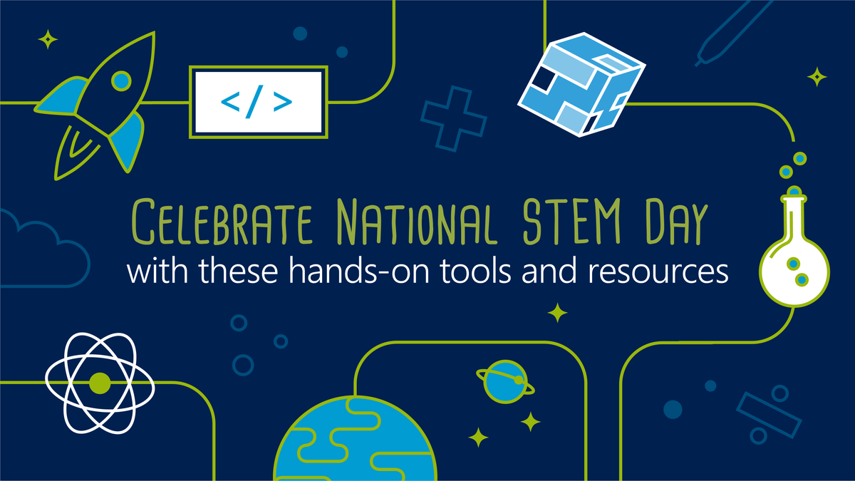 Celebrate National STEM Day with these hands-on tools and resources.