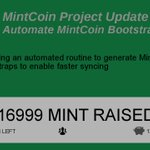Image for the Tweet beginning: Support this #MintCoin project on