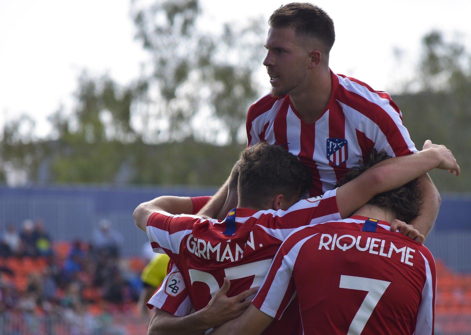El Atlético B quiere subir a Segunda contra sus demonios / Fuente: Atlético Madrid