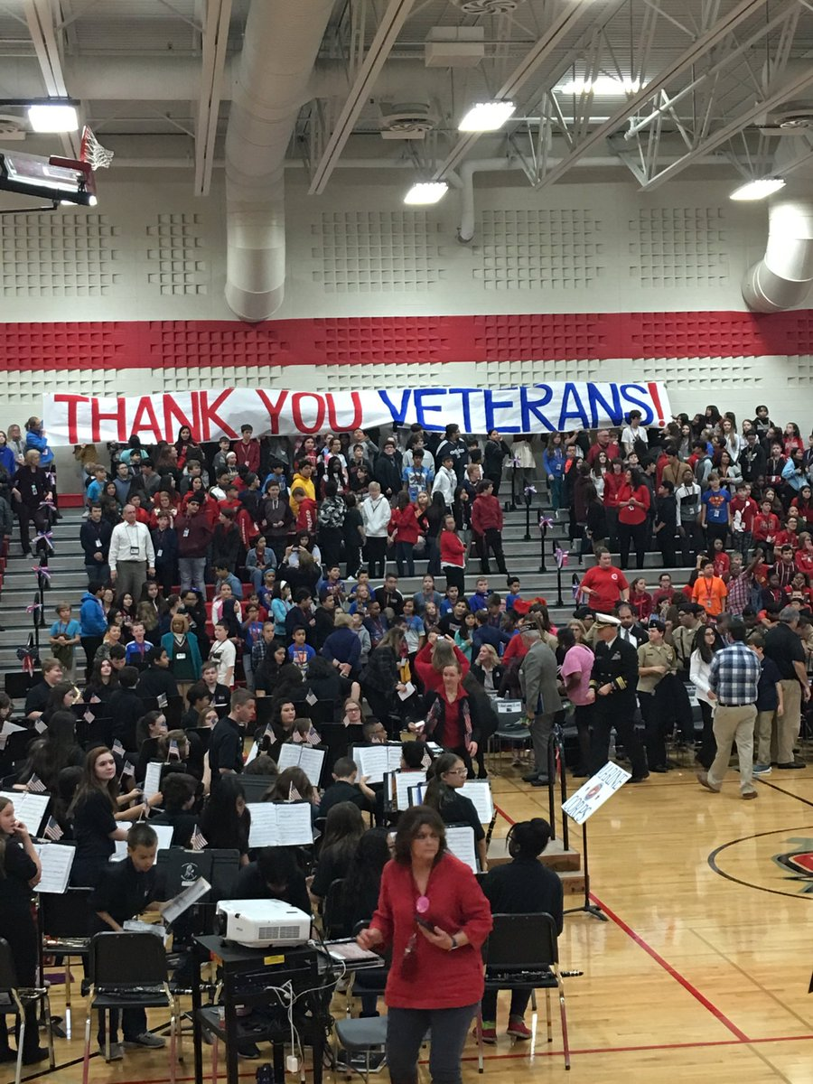 THANK YOU VETERANS!! You honor and appreciate your service!!#olhmsvets #olhms