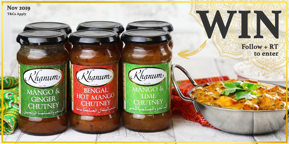 We're giving away a selection of our Chutneys, Pickles and Pastes!   For your chance to #WIN, simply FOLLOW & RT to enter our #competition!  #FreebieFriday #Giveaway<br>http://pic.twitter.com/ob16HCRnK5