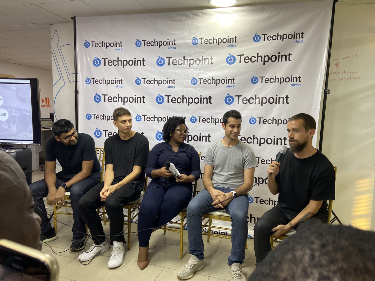 Techpoint Africa On Twitter We At Twitter Are Looking To Decentralise Our Workforce In 6 Countries In The Continent Jack Dorsey Ceo Twitter And Square Inc Techpointmeetsjack Jackinlagos Https T Co Szehyd71wv