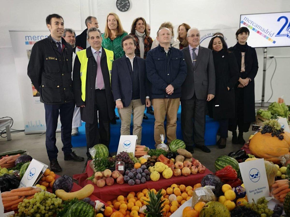 """Ayuntamiento Madrid on Twitter: """"El Banco de Alimentos de ..."""