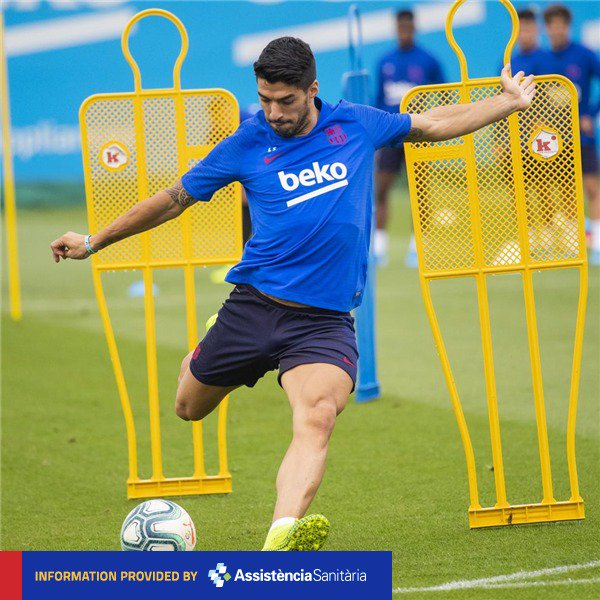 [INJURY NEWS] @LuisSuarez9 fit for #BarçaCelta! 💪🔵🔴 https://t.co/afcFnKP9Sa