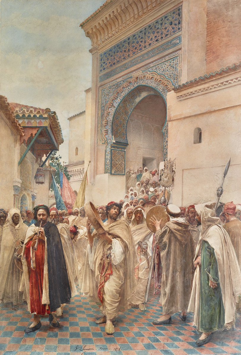 Paintings of Tlemcen in the 19th century, by Gustavo Simoni.<br>http://pic.twitter.com/LDr0TiWpH5