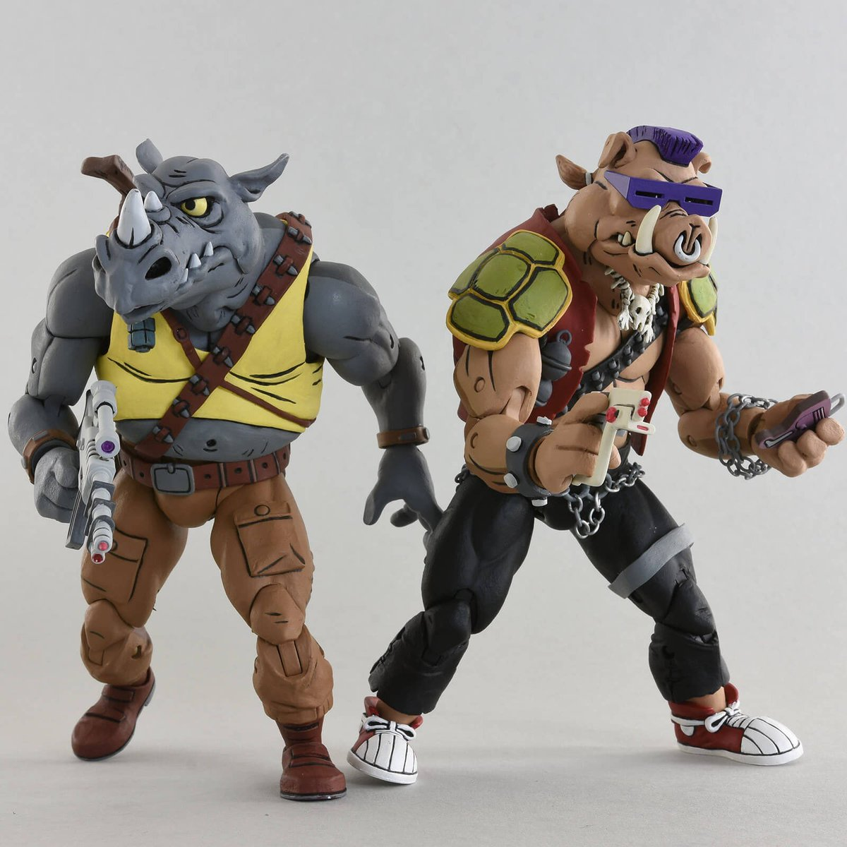 Donatello was always my fav, but show some love for Rocksteady and Bebop!