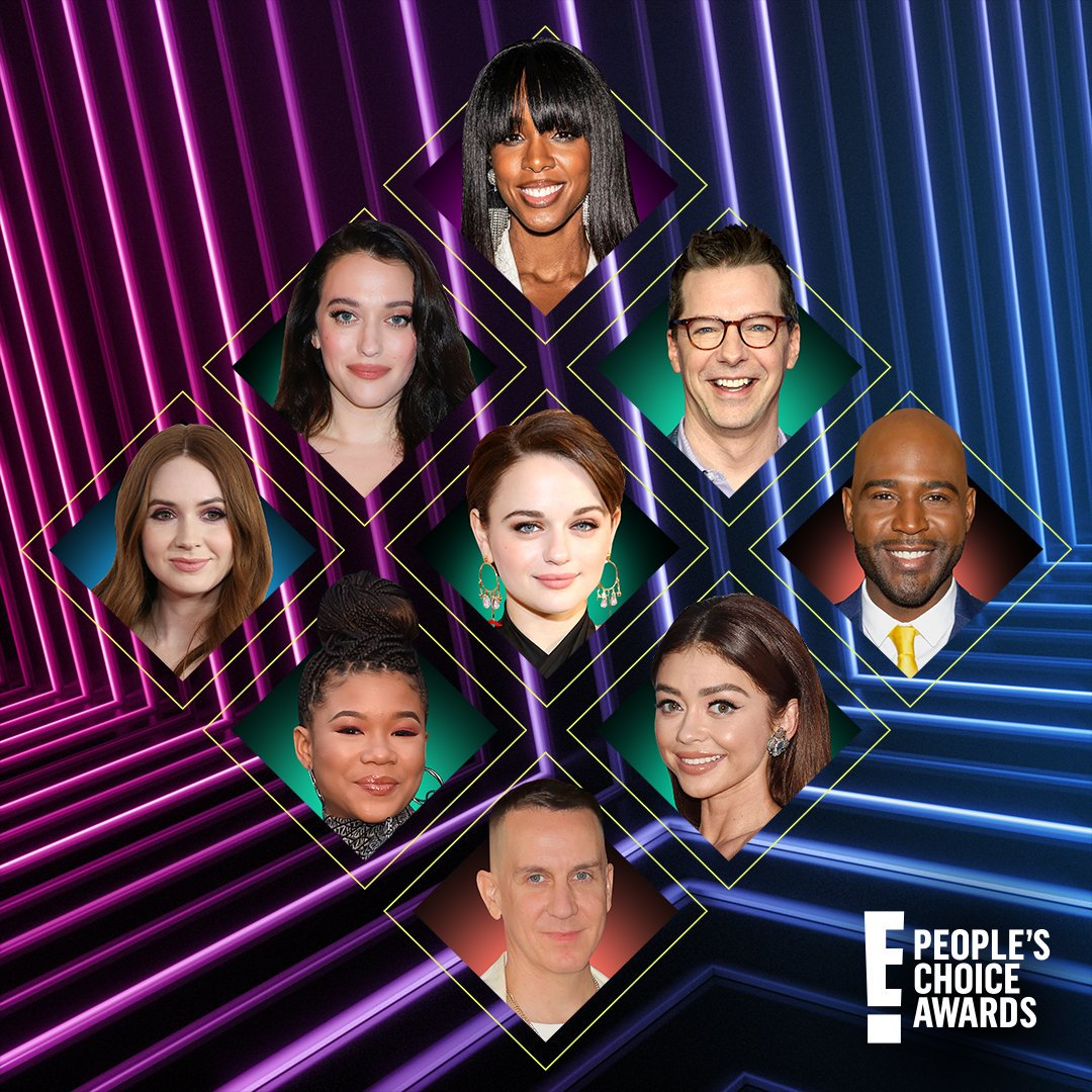 Sneak peek at the #PCAs presenters 🎤 Watch the stars come out SUNDAY 7 6c, ONLY on E!