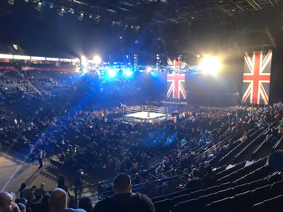 WWE Using Different RAW And SmackDown Sets This Week In England (Photos)