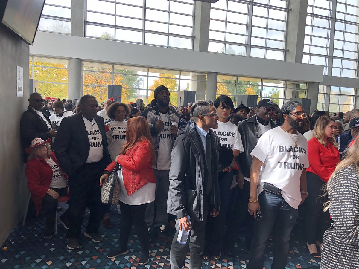 """The Florida-based group Blacks for Trump traveled to Atlanta today to support @realDonaldTrump's launch of the """"Black Voices for Trump"""" coalition."""