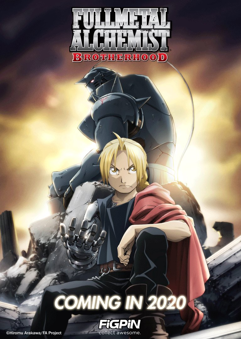 Fullmetal Alchemist: Brotherhood FiGPiNs will also be coming in 2020!<br>http://pic.twitter.com/6BylWkfVyN